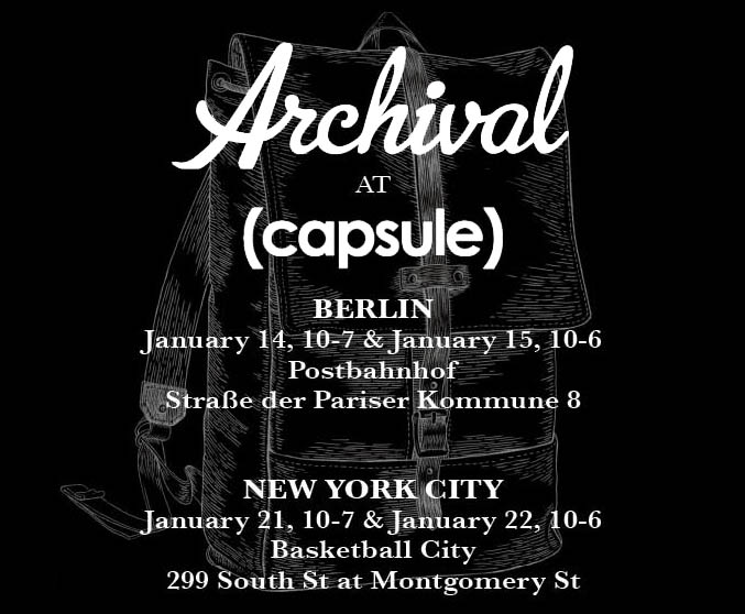 Capsule Announcement