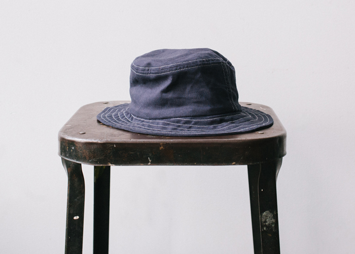 Archivalbuckethat_navy_linen_styled