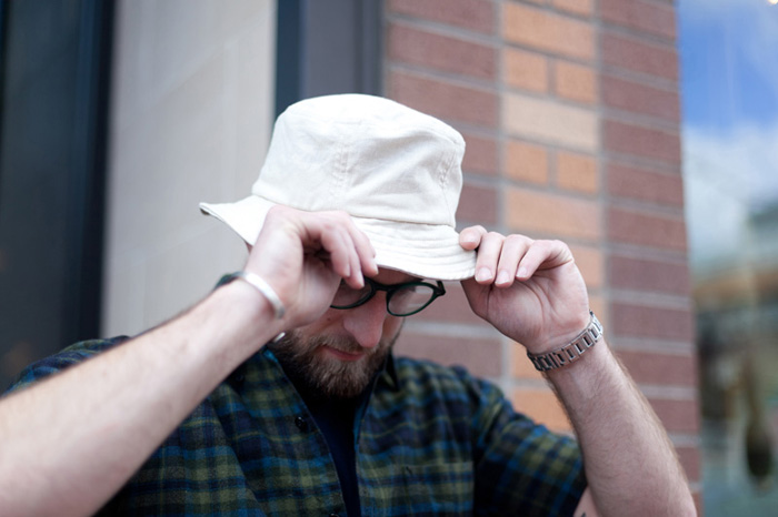 Bucket Hat Styled Natural