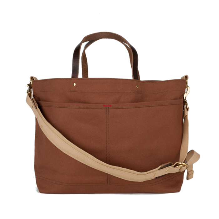 Shoulder Tote Duck Cinnamon Front-1