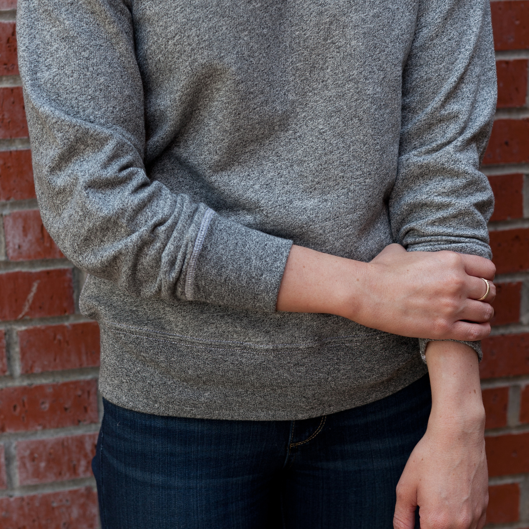 Archival Sweatshirt S and P Women Lo Res