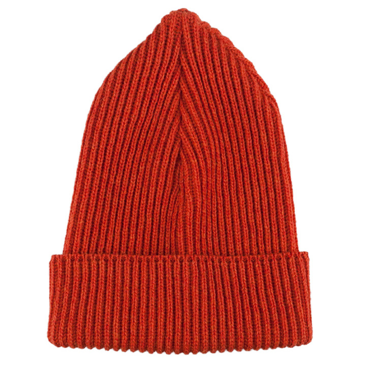 Archival Knit Hat Orange