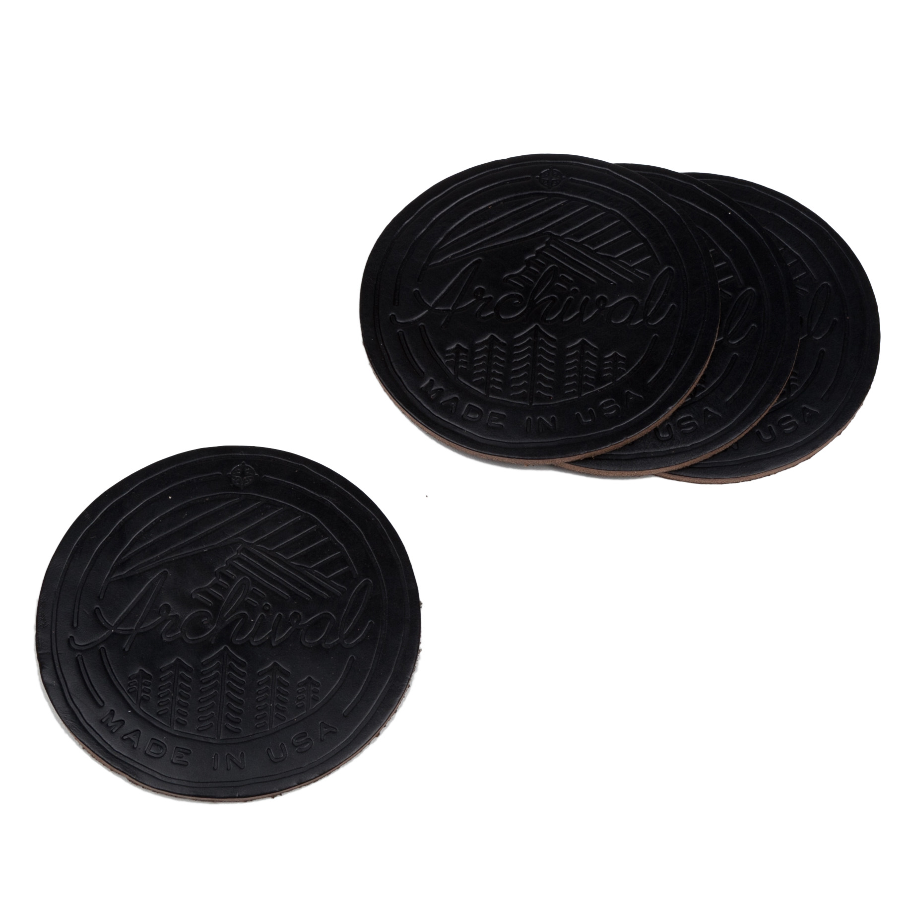 Coasters Black resize