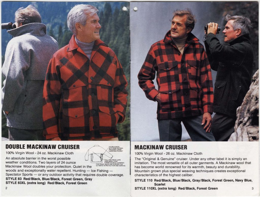 Filson catalog copy